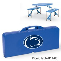 Pennsylvania State Printed Picnic Table Royal Blue