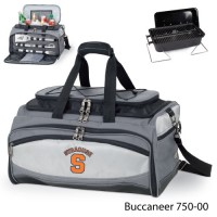 Syracuse University Printed Buccaneer Cooler Grey/Black