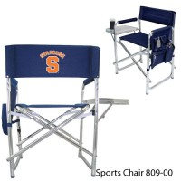 Syracuse University Printed Sports Chair Navy
