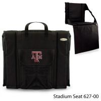 Texas A&M Printed Stadium Seat Black