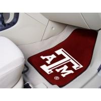 Texas A&M University 2 Piece Front Car Mats