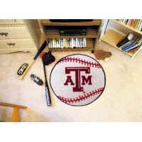 Texas A&M University Baseball Rug