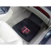 Texas A&M University Heavy Duty 2-Piece Vinyl Car Mats