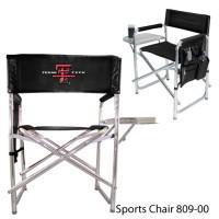 Texas Tech Printed Sports Chair Black