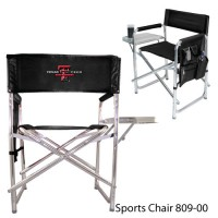 Texas Tech Embroidered Sports Chair Black