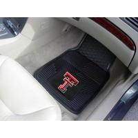 Texas Tech University Heavy Duty 2-Piece Vinyl Car Mats