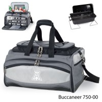 University of Arizona Embroidered Buccaneer Cooler Grey/Black