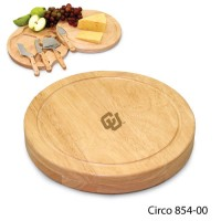 University of Colorado Engraved Circo Cutting Board Natural