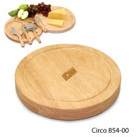 Connecticut University Engraved Circo Cutting Board Natural