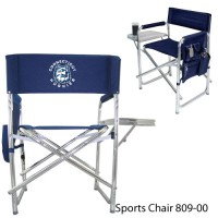 Connecticut University Printed Sports Chair Navy
