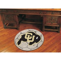 University of Colorado Soccer Ball Rug
