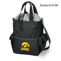 University of Iowa Printed Activo Tote Black