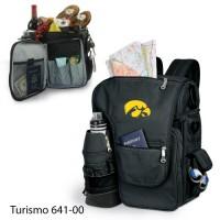 University of Iowa Embroidered Turismo Tote Black