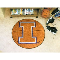University of Illinois Basketball Rug