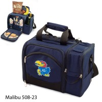 University of Kansas Printed Malibu Picnic Pack Navy