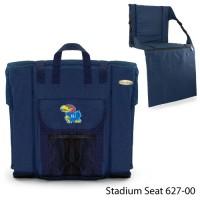 University of Kansas Printed Stadium Seat Navy