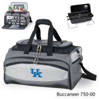 University of Kentucky Embroidered Buccaneer Cooler Grey/Black