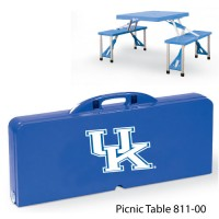 University of Kentucky Printed Picnic Table Royal Blue