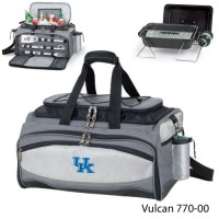 University of Kentucky Embroidered Vulcan BBQ grill Grey/Black