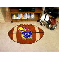 University of Kansas Football Rug