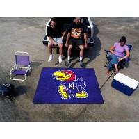 University of Kansas Tailgater Rug