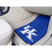 University of Kentucky 2 Piece Front Car Mats