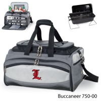 University of Louisville Embroidered Buccaneer Cooler Grey/Black