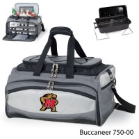 University of Maryland Printed Buccaneer Cooler Grey/Black