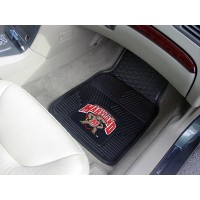 University of Maryland Heavy Duty 2-Piece Vinyl Car Mats