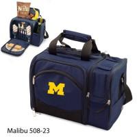 University of Michigan Embroidered Malibu Picnic Pack Navy