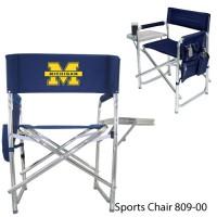 University of Michigan Printed Sports Chair Navy
