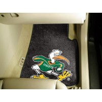 University of Miami 2 Piece Front Car Mats
