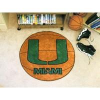 University of Miami Basketball Rug
