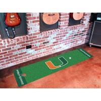 University of Miami Golf Putting Green Mat