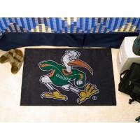 University of Miami Starter Rug