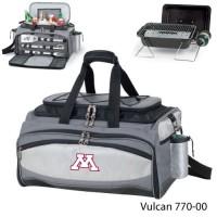 University of Minnesota Embroidered Vulcan BBQ grill Grey/Black