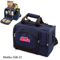University of Mississippi Embroidered Malibu Picnic Pack Navy