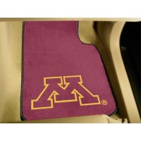 University of Minnesota 2 Piece Front Car Mats