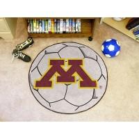 University of Minnesota Soccer Ball Rug