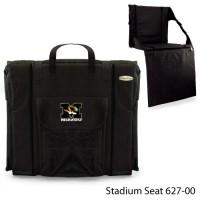 University of Missouri Printed Stadium Seat Black