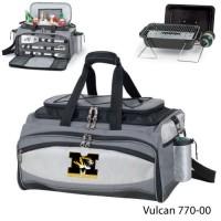 University of Missouri Printed Vulcan BBQ grill Grey/Black