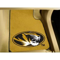 University of Missouri 2 Piece Front Car Mats