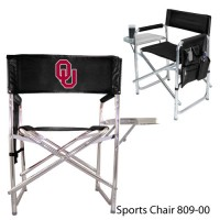 University of Oklahoma Printed Sports Chair Black