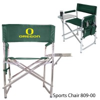 University of Oregon Printed Sports Chair Hunter Green