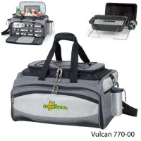 University of Oregon Embroidered Vulcan BBQ grill Grey/Black
