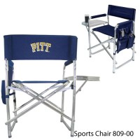 University of Pittsburgh Embroidered Sports Chair Navy