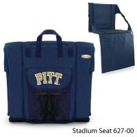 University of Pittsburgh Printed Stadium Seat Navy