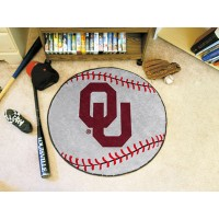University of Oklahoma Baseball Rug
