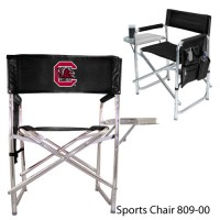 University of South Carolina Printed Sports Chair Black