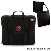 University of South Carolina Printed Stadium Seat Black